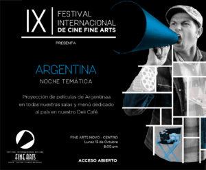 INVITACIONES EVENTOS FESTIVAL DE CINE 2018_NOCHE TEMATICA ARGENTINA